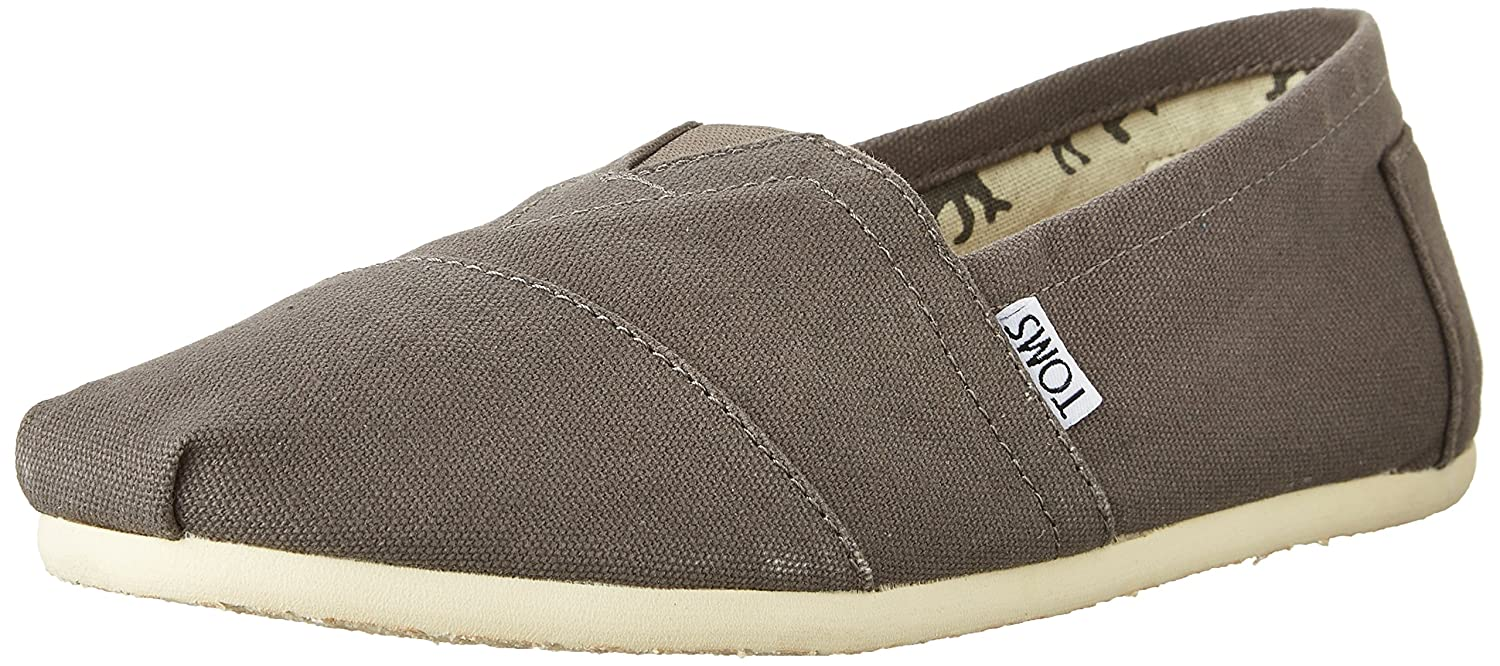 Amazon.com | TOMS Mens Alpargata Classic Canvas Slip-On Shoe | Loafers & Slip-Ons