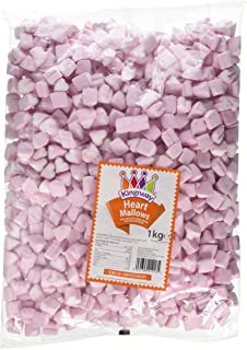 Barratt Pink And White Love Hearts Jelly Bean Sweets Wedding Favours Valentine Home & Garden
