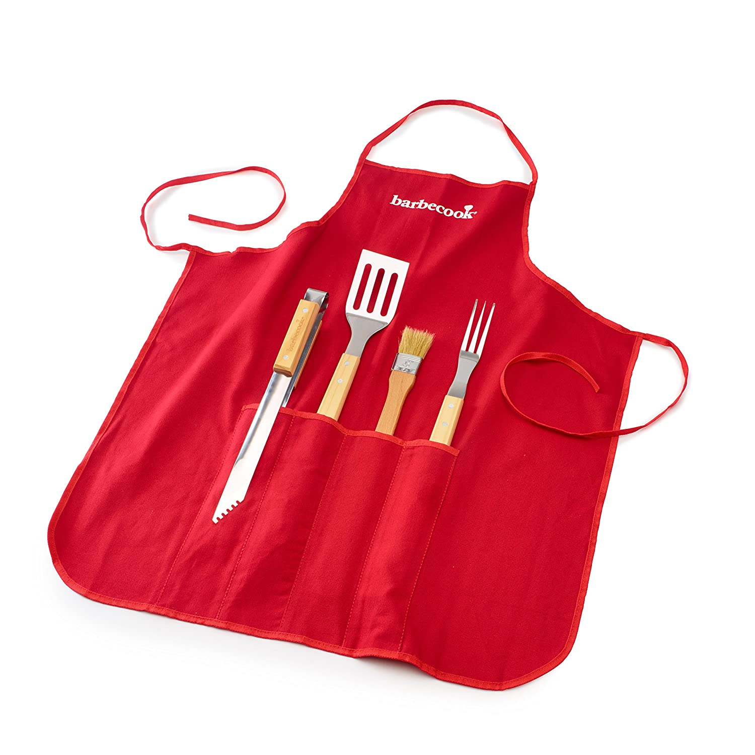 barbecook® Apron with Barbecue Tools (Pack of 4) SAEY HOME & GARDEN NV 2230170055