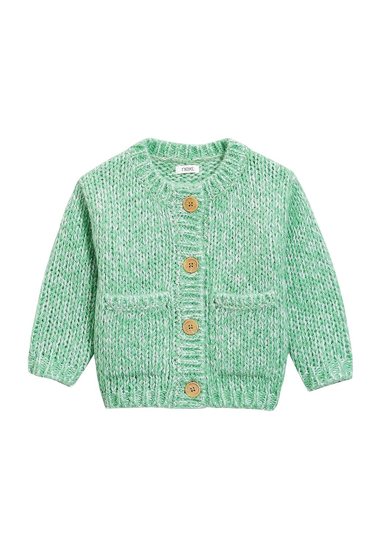230f00a0f8008 Next Cardigan en Grosse Maille (3 Mois À 6 Ans) Fille Vert 6-9 Mois   Amazon.fr  Vêtements et accessoires