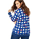 Woman Within Plus Size French Terry Sweatshirt