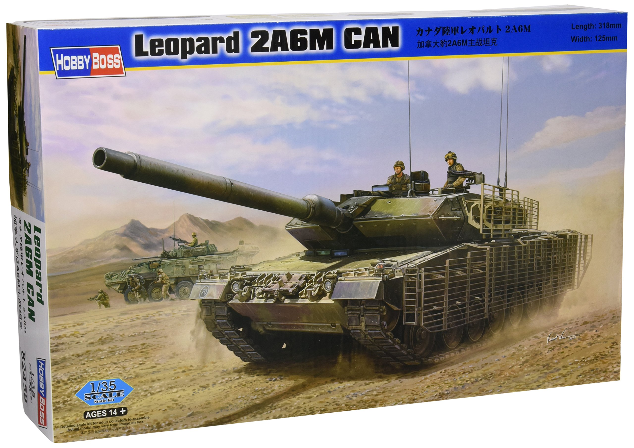 Hobby Boss Leopard 2A6M Canada Vehicle Model Building Kit