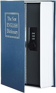AmazonBasics Book Safe - Combination Lock, Blue