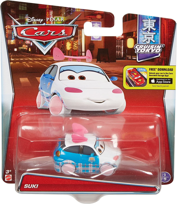 DISNEY CARS TOONS DIECAST-Suki-frais de port Combiné