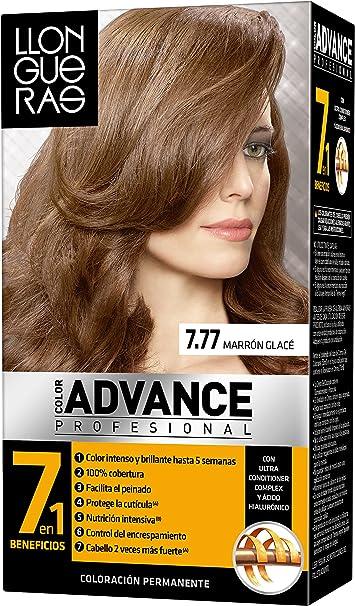 Llongueras - Color Advance 7,77 Marron glace - [paquete de 3]