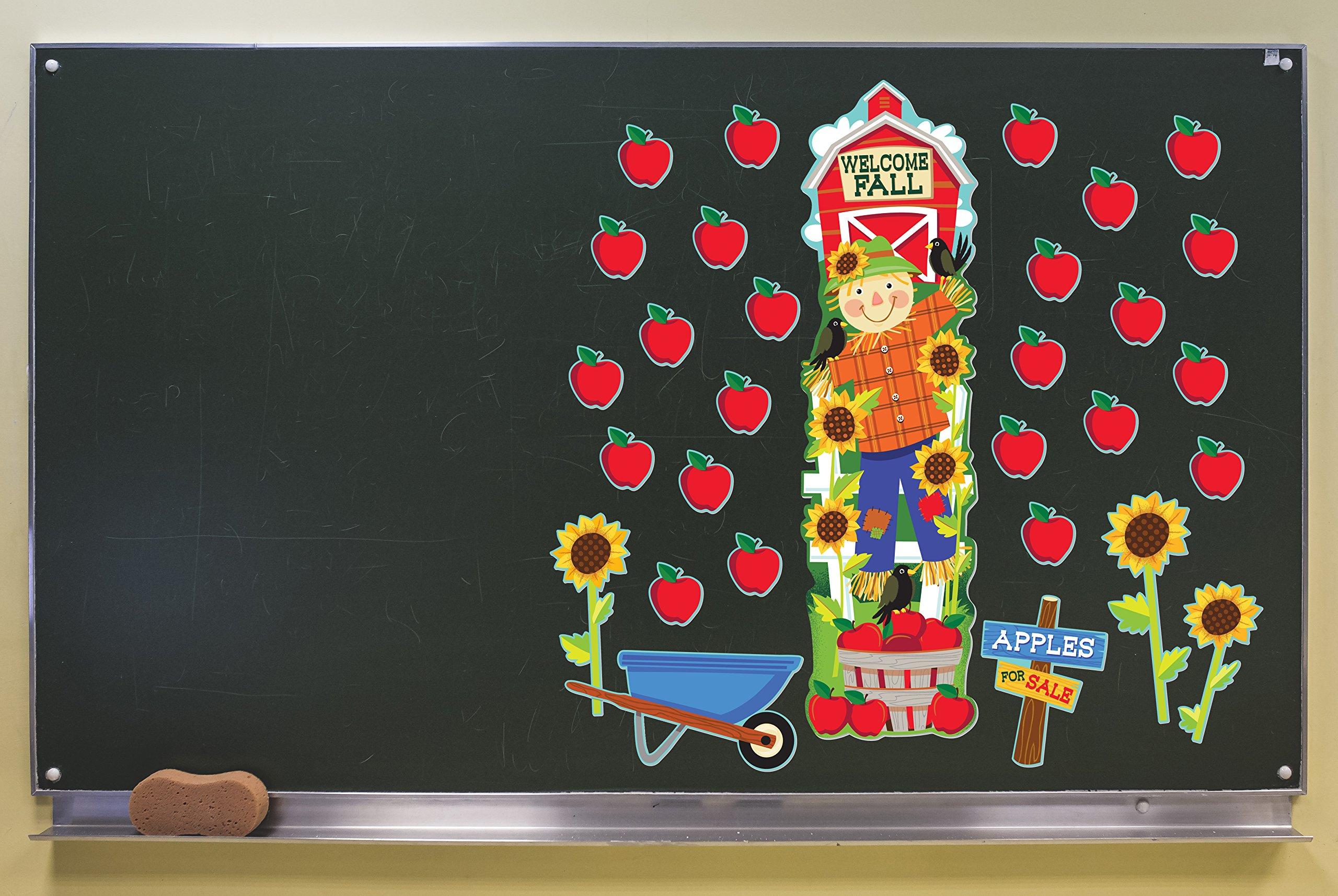 Eureka Fall Harvest School and Classroom Door Décor Kit, 30pc