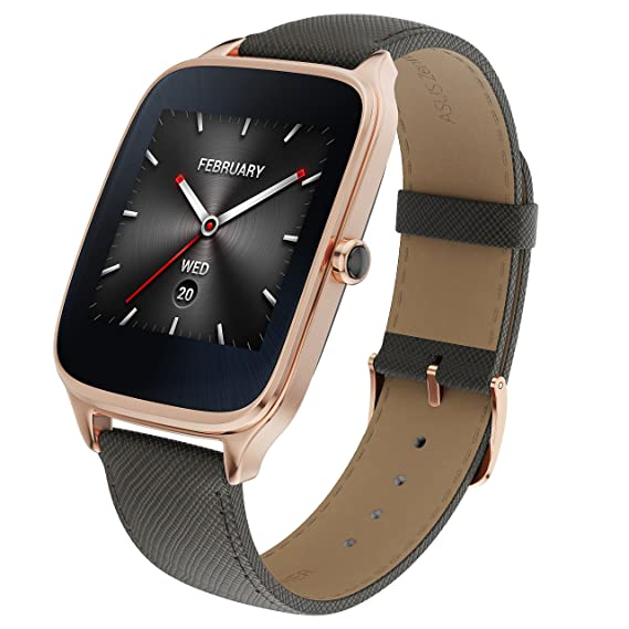 Amazon.com: ASUS ZenWatch 2 Android Wear Smartwatch - 1.63 ...