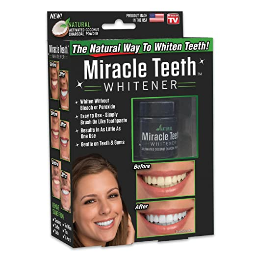 Amazon Com Ontel Miracle Teeth Whitener Natural Whitening