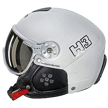 HMR – Casco de esquí/Snow HMR H3 blanco – Mixta – blanco, ...
