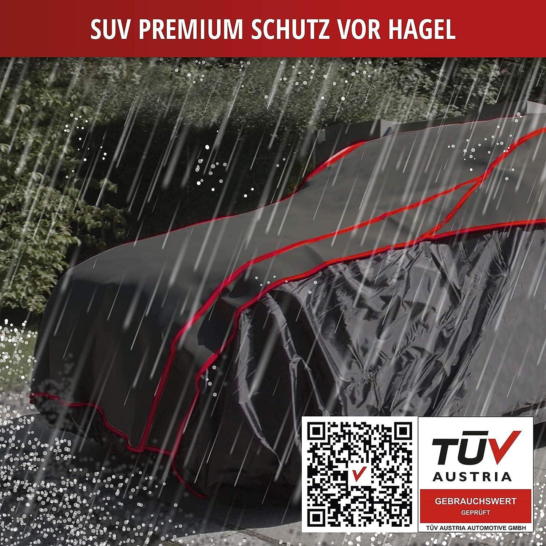 Walser Auto Hagelschutzplane Premium Hybrid SUV wasserdichte atmungsaktive Hagelschutzgarage f/ür optimalen Hagelschutz M 31079 Gr/ö/ße
