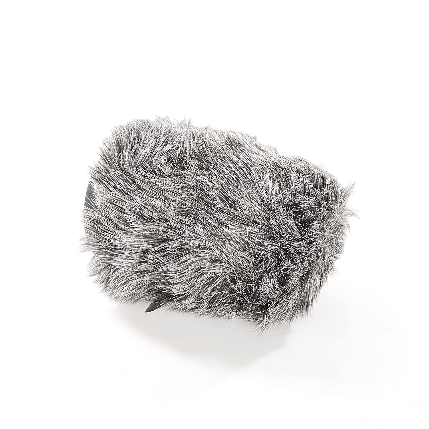 8cm Movo WS-G80 Furry Rigid Windscreen for Microphones 18-23mm in Diameter and up to 3.1 Long Dark Gray