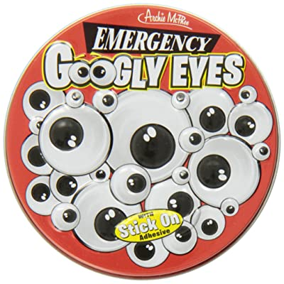 Archie McPhee Emergency Googly Eyes: Toys & Games