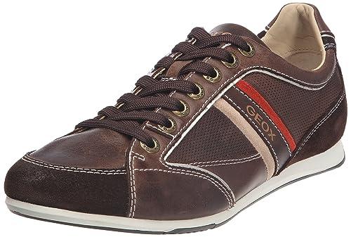 Geox U Andrea Art.P ANDREA3 Zapatillas de Deporte de Cuero