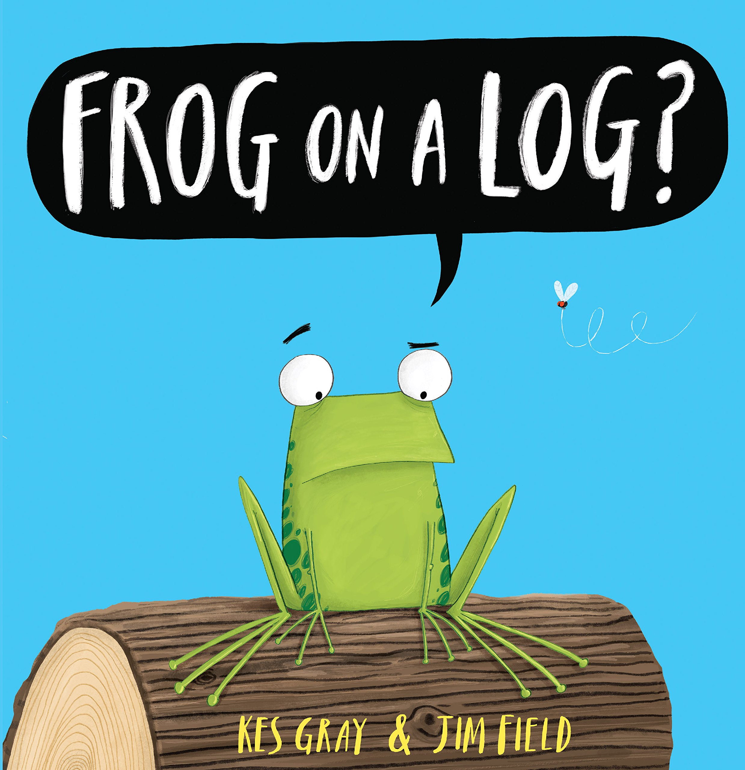 Image result for frog on a log book