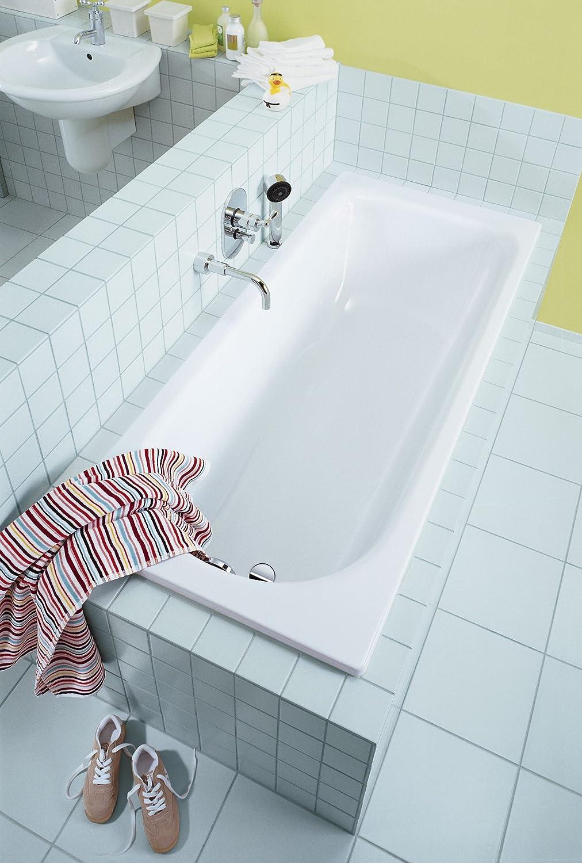 Kaldewei 375-1 Saniform Plus Rectangle Bathtub, 70-7/8-by-31-1/2-by ...