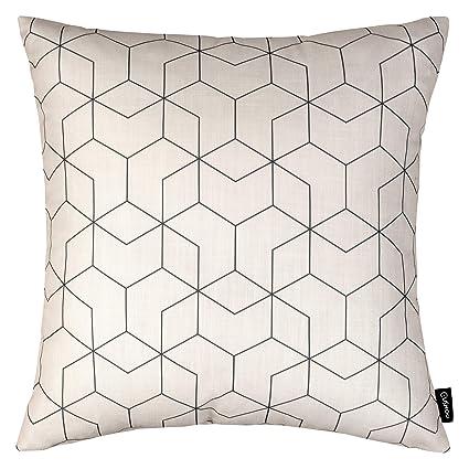 Cushoo - Fundas de cojín geométricas Modernas en un cojín ...