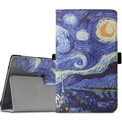 7 opinioni per Lenovo TAB3 7 Essential / Lenovo Tab3 A7-10 Custodia Case, Infiland Slim Folio