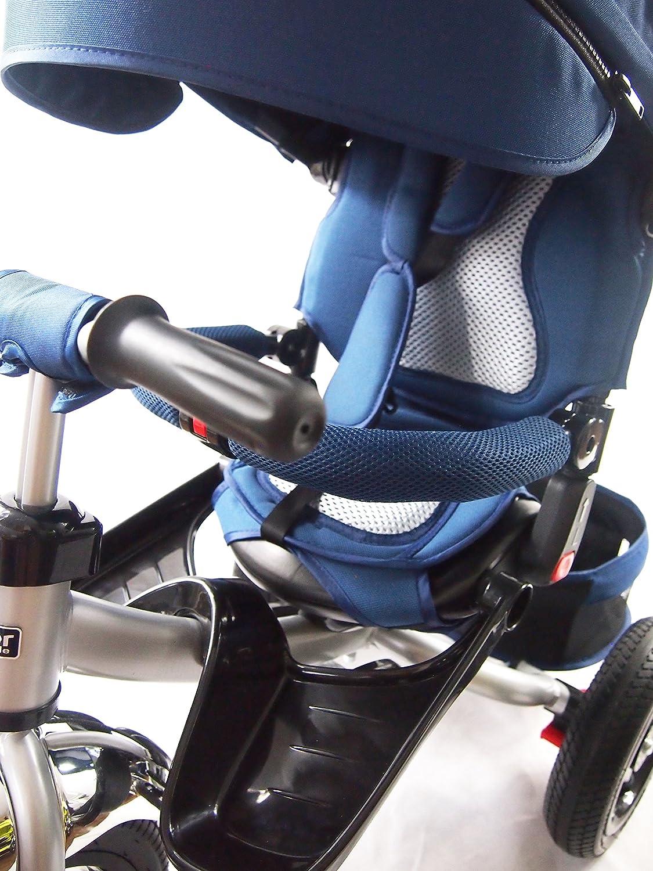 Triciclo para niños Little Tiger, con asiento giratorio y respaldo reclinable 4 en 1: Amazon.es: Juguetes y juegos