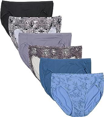 Hanes para mujer Premium Invisible Hi Cortes ropa interior, 6 unidades), varios colores: Amazon.es: Ropa y accesorios
