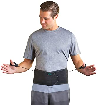 Aspen Lumbar Support Back Brace (Black Med Belly Size 26\u0026quot;-32\u0026quot;) Amazon.com: 26