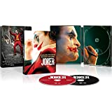 Joker 2019 Limited Edition Steelbook (4K Ultra+Blu-Ray+Digital)