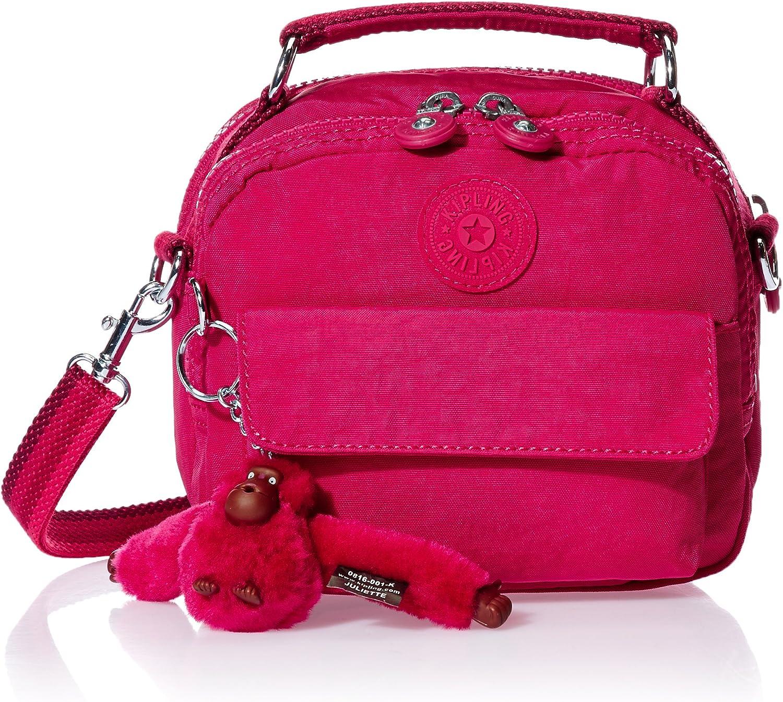 Kipling Puck – Sac à Main, Femmes, Rose – Cherry Pink C