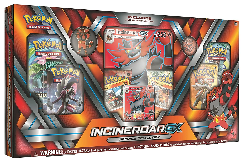 Pokémon Incineroar GX Premium Box Excell Marketing L.C 097712536439