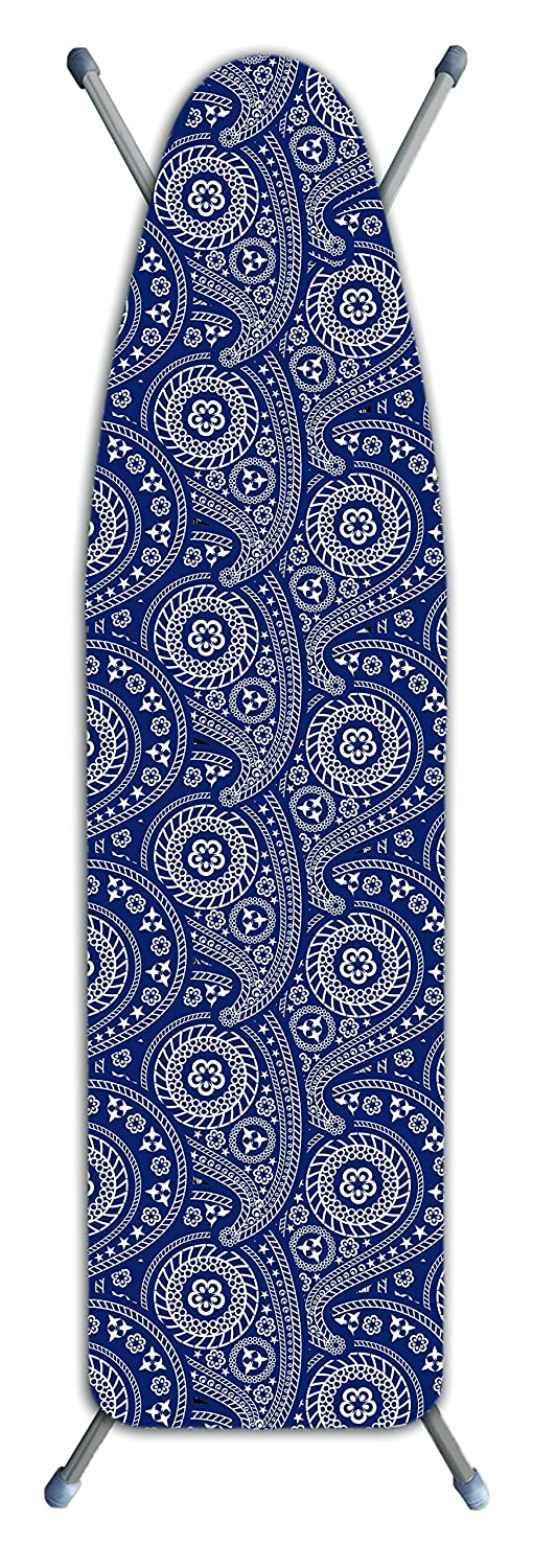 Laundry Solutions by Westex IB0302 Deluxe Extra Thick Ironing Paisley Board Cover, Blue Westex International