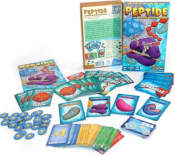 Peptide: A Protein Building Game: Amazon.es: Juguetes y juegos