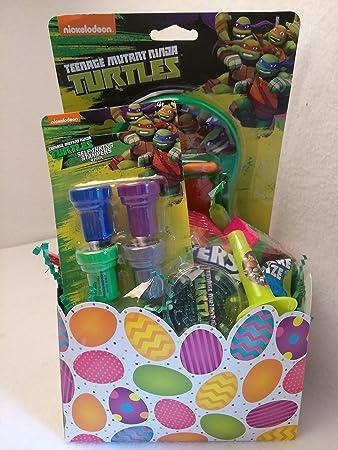 Amazon.com: Happy TMNT Teenage Mutant Ninja Turtle Fun cesta ...
