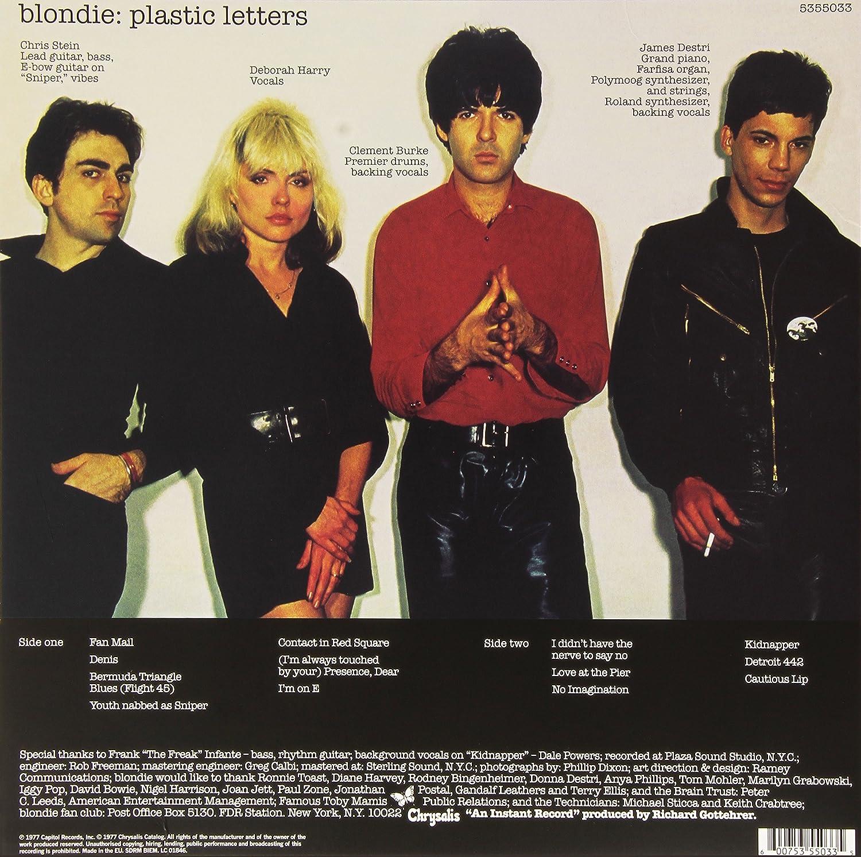 blondie plastic letters lp amazoncom music