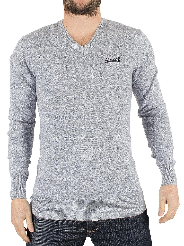 Superdry Herren Label Vee Sportsweatshirt