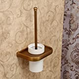 hiendure multi funktions wand antique brass wc papierrollenhalter toilettenpapierhalter mit. Black Bedroom Furniture Sets. Home Design Ideas