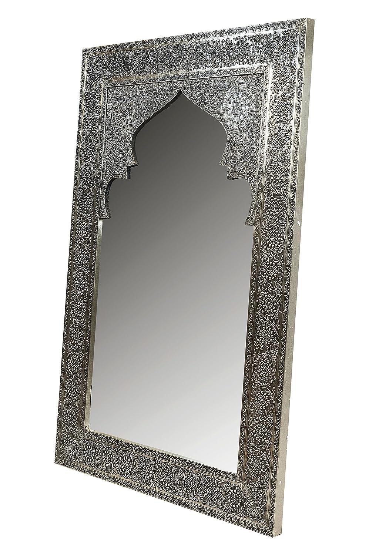 Orient Spiegel Wandspiegel Talah 90cm groß Silber | Großer ...