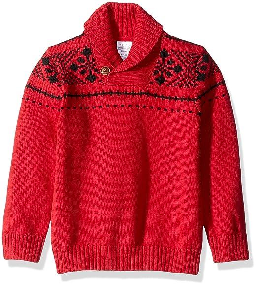 Amazoncom Gymboree Boys Toddler Cozy Fairisle Sweater Clothing