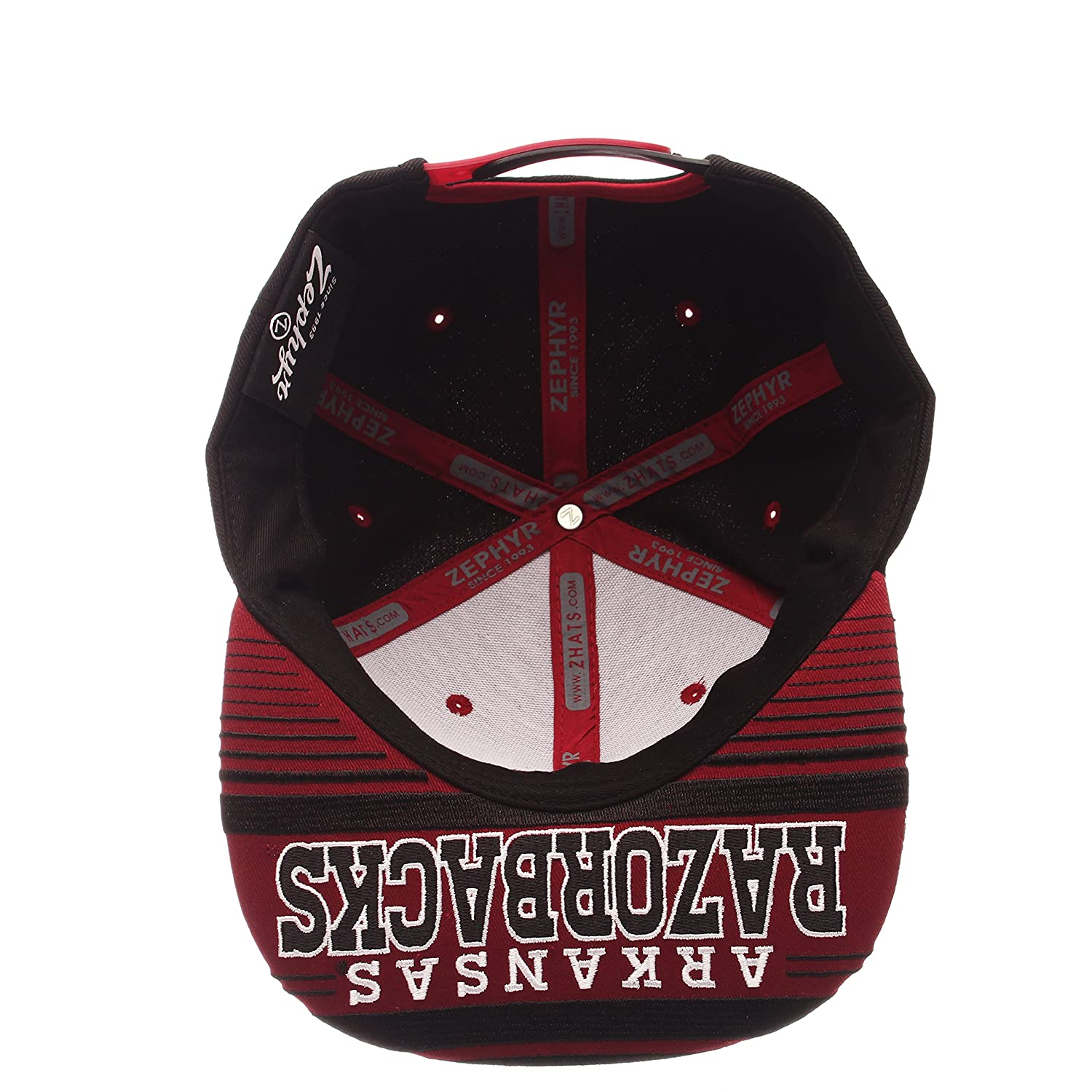 Zephyr Mens Drop Step Snapback Hat