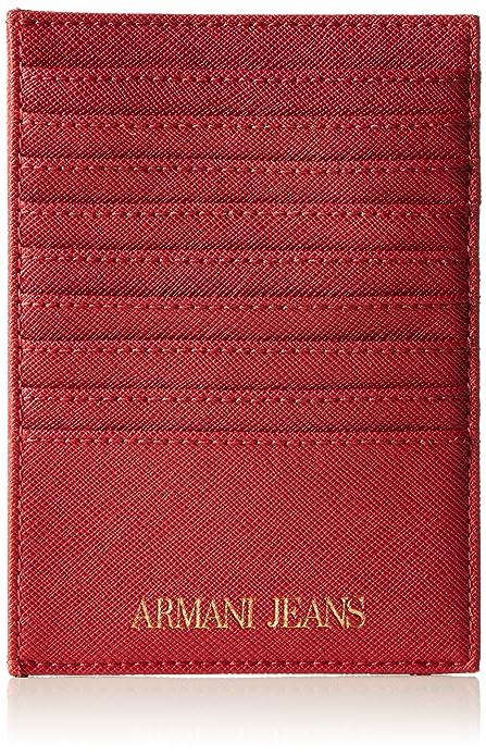 Armani Jeans 928504CC857 - Cartera de Mano de Sintético Mujer, Color Rosa, Talla 1x10x14