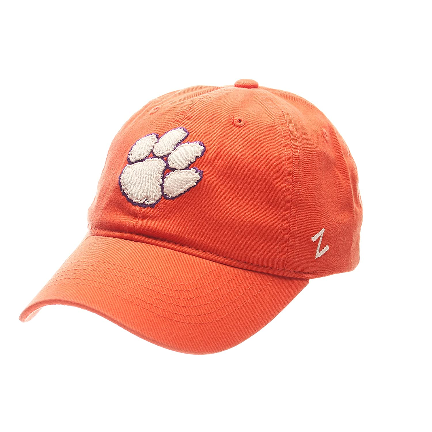 NCAA Clemson Tigers Mens Scholarship Relaxed Hat Team Color Adjustable Size