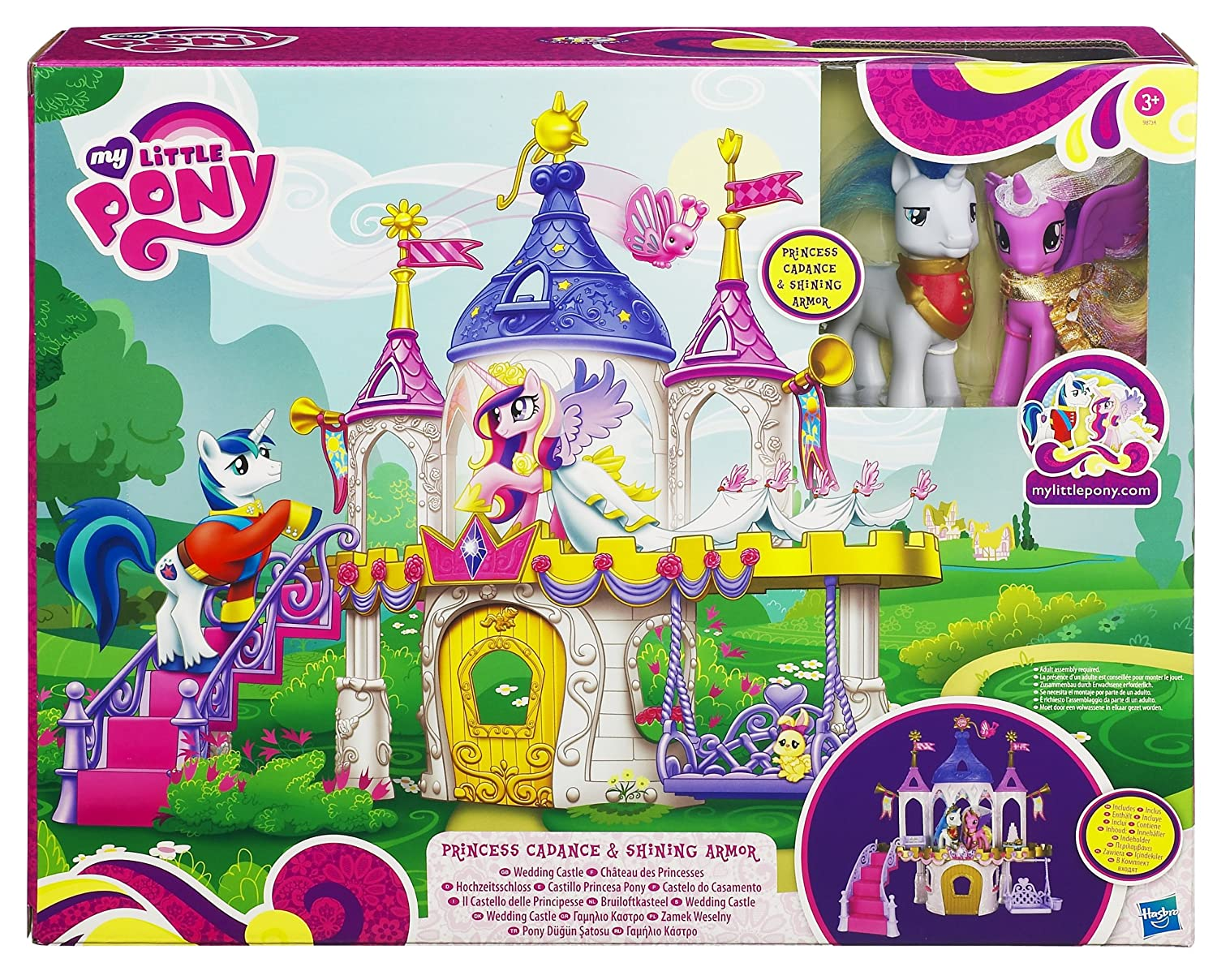 My little pony royal wedding castle playset amazon co uk toys games