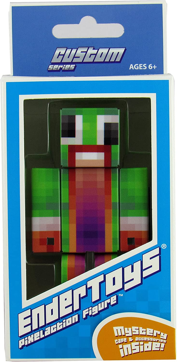EnderToys Green Big Mouth Guy Action Figure Toy, 11 Inch Custom Series  Figurines