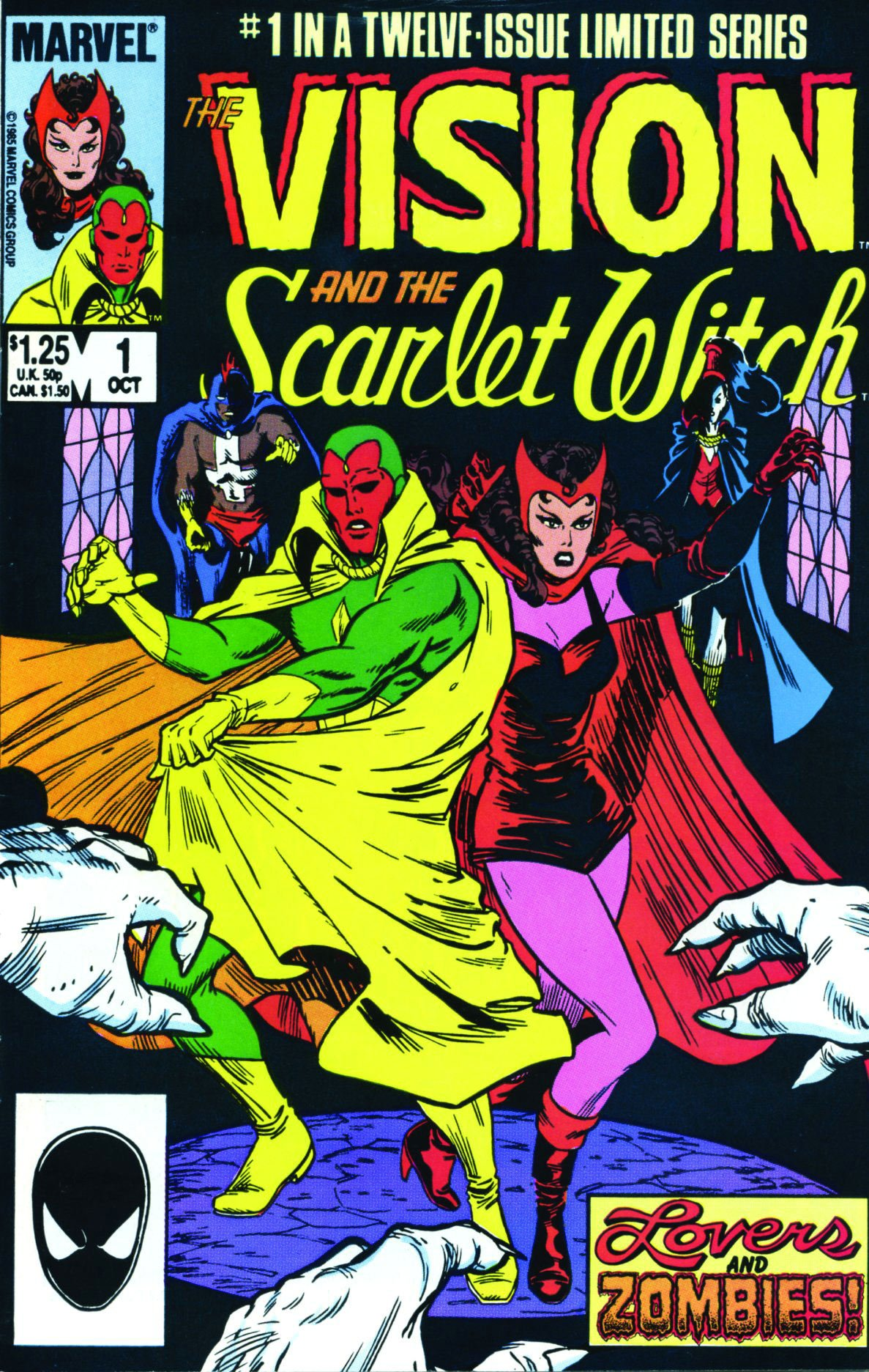Amazon.com: Avengers: Vision & The Scarlet Witch - A Year in the ...
