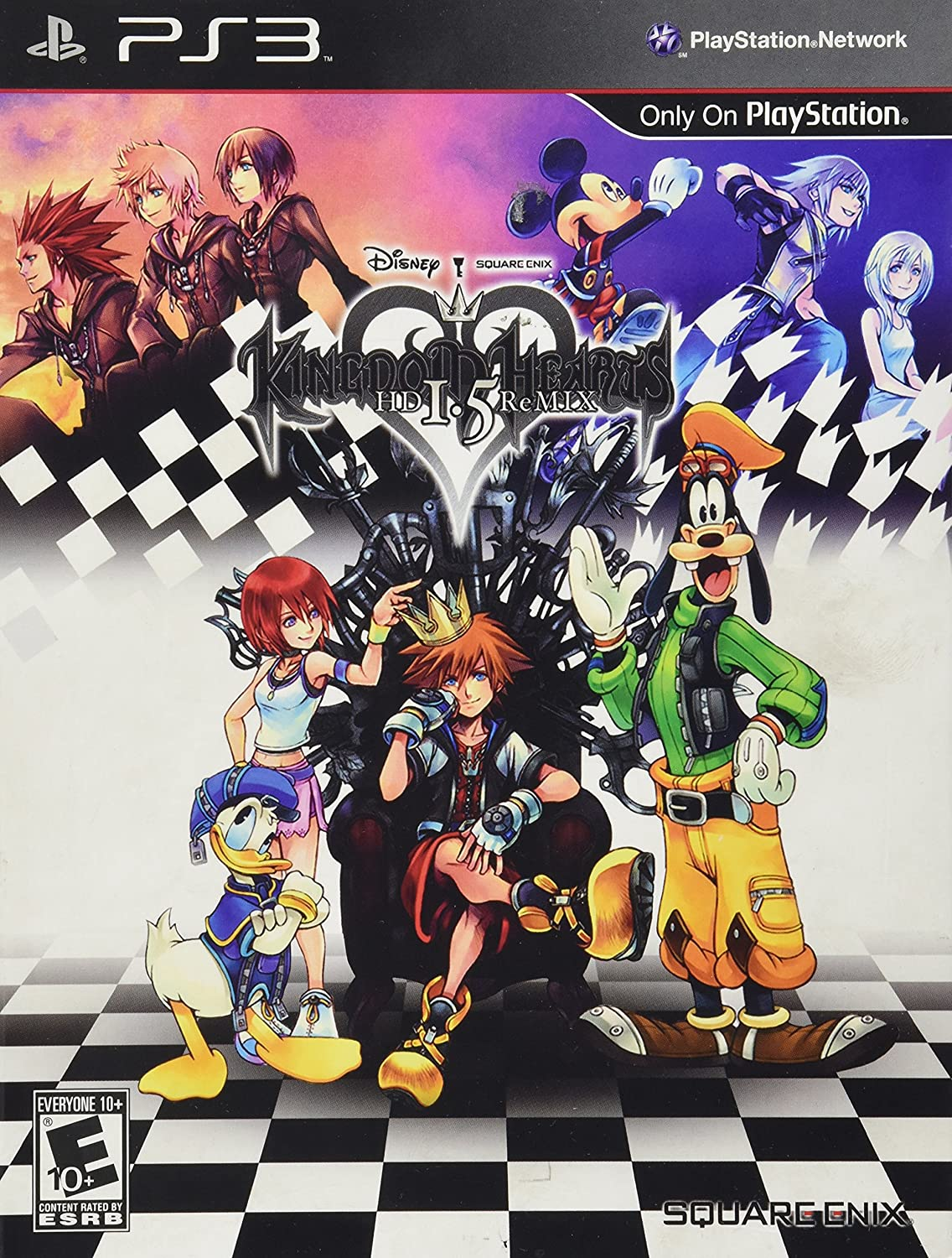 Kingdom Hearts HD 1.5 Remix - PlayStation 3 by Square Enix: Amazon ...