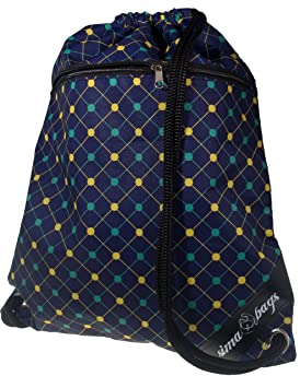 bolsa de deporte impermeables Hipster 12 estilos frontal y bolsillo interior con cremallera cuerdas gruesas bolsa inconformista, bolsa de deporte, ...