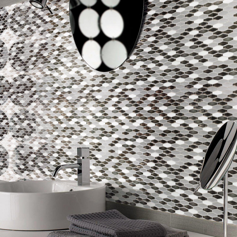 Art3d Peel-N-Stick Kitchen Backsplash Wall Tile Vinyl Wall Sticker, 12'' x 12'' Pack of 6