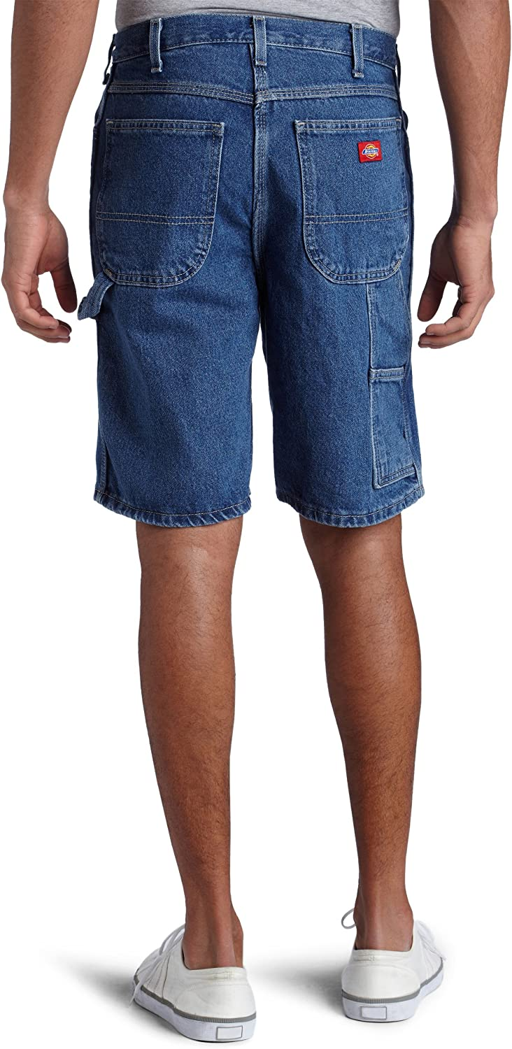 Dickies Mens 9 1//2 Inch Inseam Relaxed Fit Carpenter Short