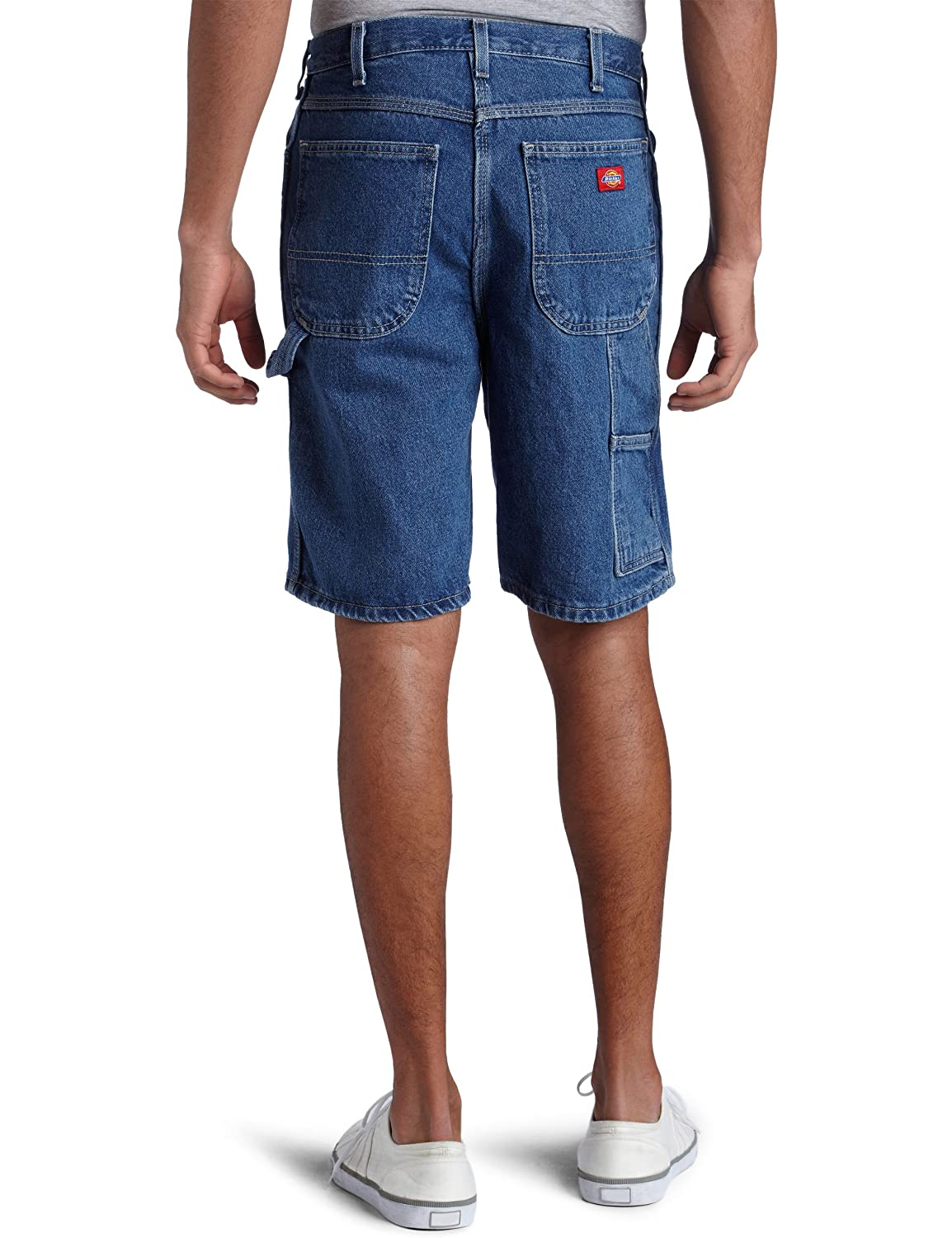 04b847ed Dickies Men's Big 9 1/2 Inch Inseam Relaxed Fit Carpenter Short at Amazon  Men's Clothing store: