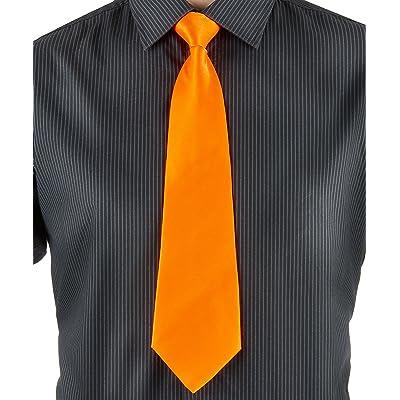 Party Pro Cravate, Unisex-Adult, 3334, Orange, Taille Unique