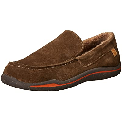 Amazon.com | Acorn Ellsworth Suede Moc Men's Slipper | Slippers
