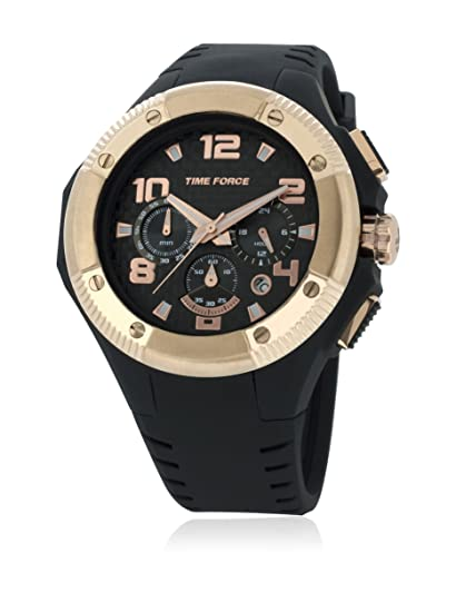 Time Force Reloj con Correa de Caucho TF4151M15