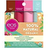 eos USDA Organic Lip Balm - Variety Pack Lip Care to Nourish Dry Lips 100% Natural and Gluten Free Long Lasting…